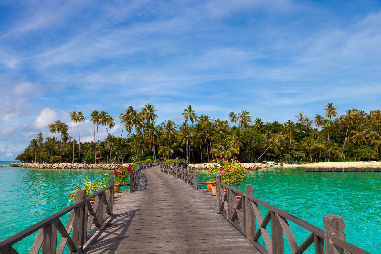 Island Paradise Beach Village Images